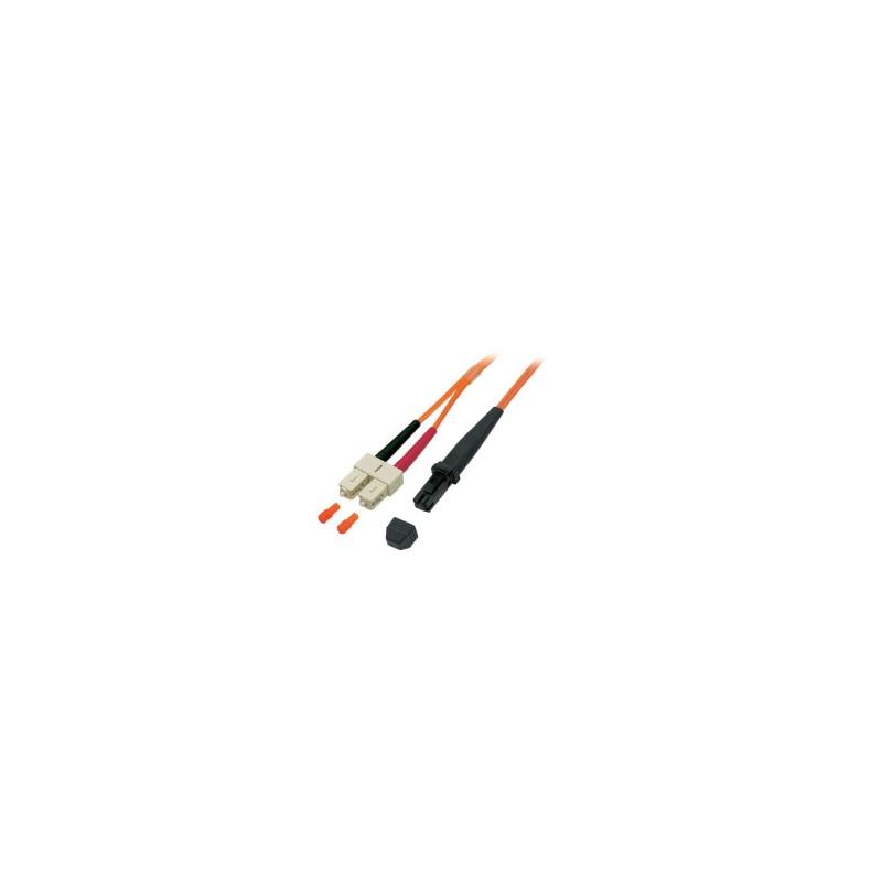 O0720.2, Оптична корда дуплекс 50/125 MTRJ-SC, 2m LSZH EF