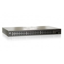GSW-5150, Fast Ethernet 48 port switch + 2 GE + 1 GE SFP
