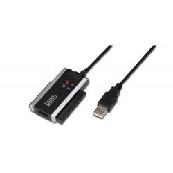 DA-70200-1, USB2 - IDE/SATA , PSU incl. Assmann