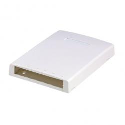 CBXF6WH-AY, Mini-Com® surface mount box accepts six Mini-Com® Modules