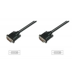 AK-320108-020-S, DVI-D(24+1) кабел M/M 2m Ass