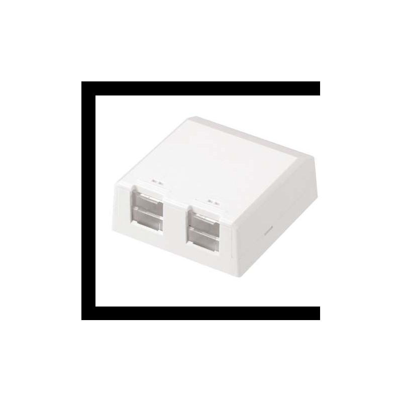 CBXS2AW-A, Розетка празна за 2 Mini-Com® Modules