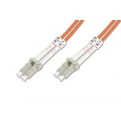 Auto-6LCLC-2, Оптична корда дуплекс 62.5/125 LC-LC, 2m, Auto