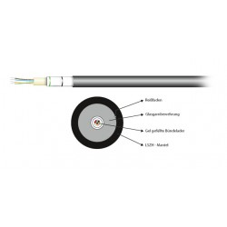 54412.1L-CPR, Опт. кабел 12F SM 9/125 LSZH CPR EFB