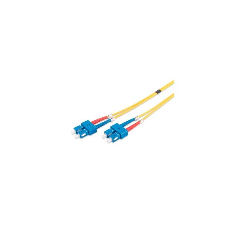 Auto-9SCSC-5, Оптична корда дуплекс 9/125 SC-SC, 5m, Auto