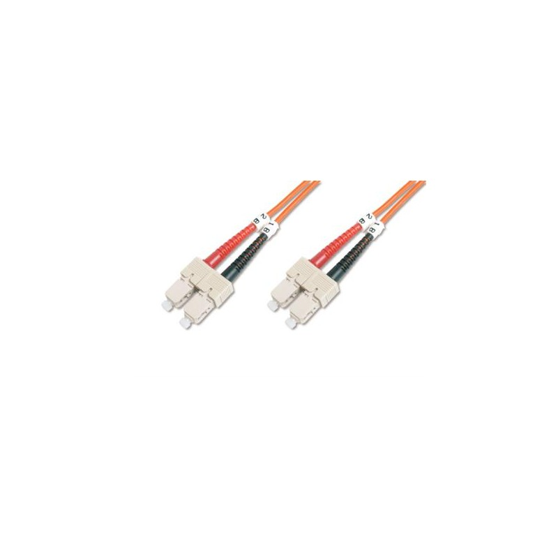 KF-5SCSC-05L, Оптична корда дуплекс 50/125 SC-SC, 5m, KF
