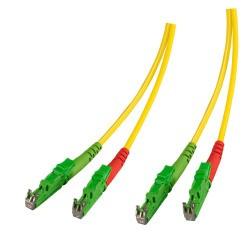 KF-E2APC-02L, Оптична корда дуплекс 9/125 E2/APC-E2/APC 2m, K