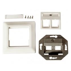 ET-25085FO, Оптична розетка 2xSC Simplex (LC duplex), EFB