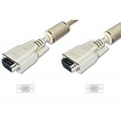 DK-310103-150-E, VGA кабел M/M 15m, Assmann