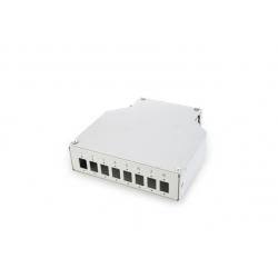 DN-96891, Оптична кутия за 8 LC адаптера Assmann