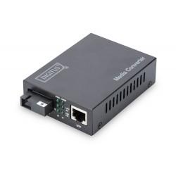 DN-82123, Конвертор SM SC Gbit до 20км Tx1550