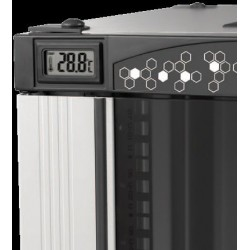 "LN-CK32U6080-BL-121, LANDE_CK, 32U 19"" Free Stand 600x800mm, Комуникационен шкаф (rack), трмометър"