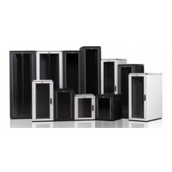 LN-FS22U8080-BL-111, LANDE, 22U 19`` Free Standing Cabinets 800x800mm