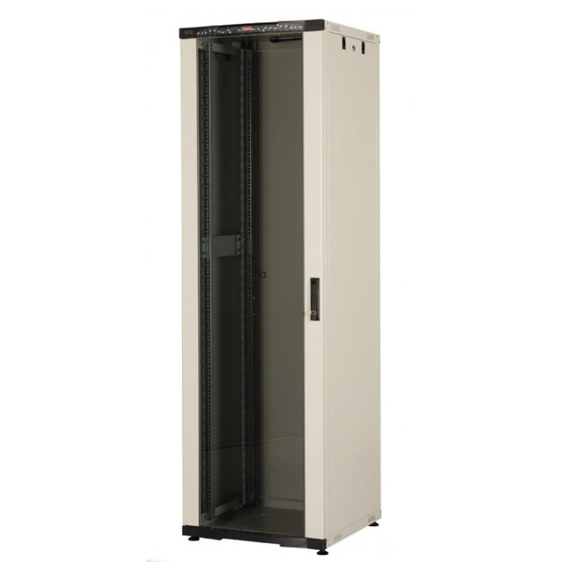 "LN-CK42U6060-LG-121, LANDE_CK, 42U 19""600x600 сив, Комуникационен шкаф (rack)"