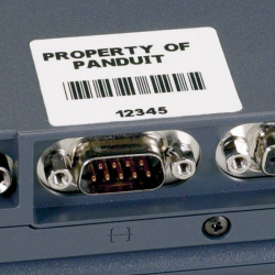 C150X075YJC, Component label, P1 Cassette, 38.1x19.1mm