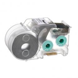C061X030FJC, White, adhesive polyolefin label, 500/cassette, Mini-Com ® 1-port identifier; Network label