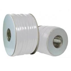 91105.100, Плосък телефонен кабел 4ж, 100м бял, EFB