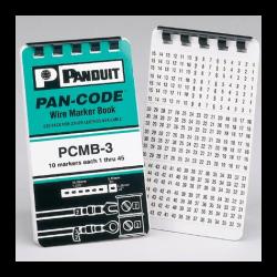 PCMB-3, Книжка с етикети 40 символа
