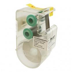 T038X000VPC-BK, Continuous Tape Cassette 9.7mm, L7.6m