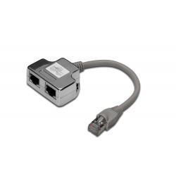 DN-93904-C, T адаптер TEL-TEL (2xRJ45)