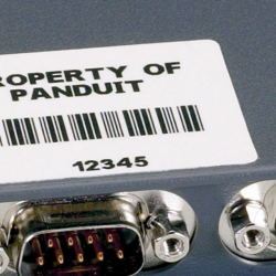 C200X100YMC, Етикет, размер 50.8x25.4mm, сребрист, 150 етикета в касета
