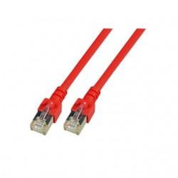 K5458.3, Пач кабел Cat.5e 3m SFTP червен, EFB