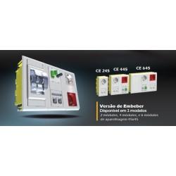 Кутия за 6 модула 45x45 монтаж под мазилка JSL,CE645
