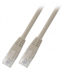 K8456.15, Пач кабел Cat.5e 15m UTP сив, EFB