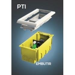 Кутия за 2 модула 45x45 монтаж под мазилка JSL, CE245