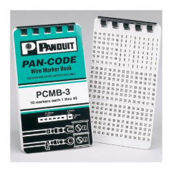 PCMB-14, Pre-printed Wire Marker Book
