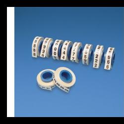 PMDR-0-9, Комплект ролки от 0-9 за надписване