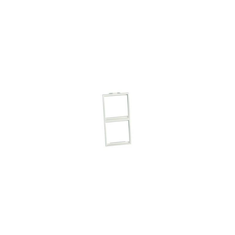 FD62G/4, Адаптер 2х 45х45 за колона, бял