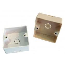 JE305/WH, Кутия за розетка  JE307C6-FSDWH, бяла