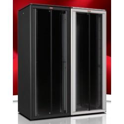 """LN-FS42U8010-BL-111, LANDE, 42U 19"""" FreeStand.Cab. Glass 800x1000mm"""