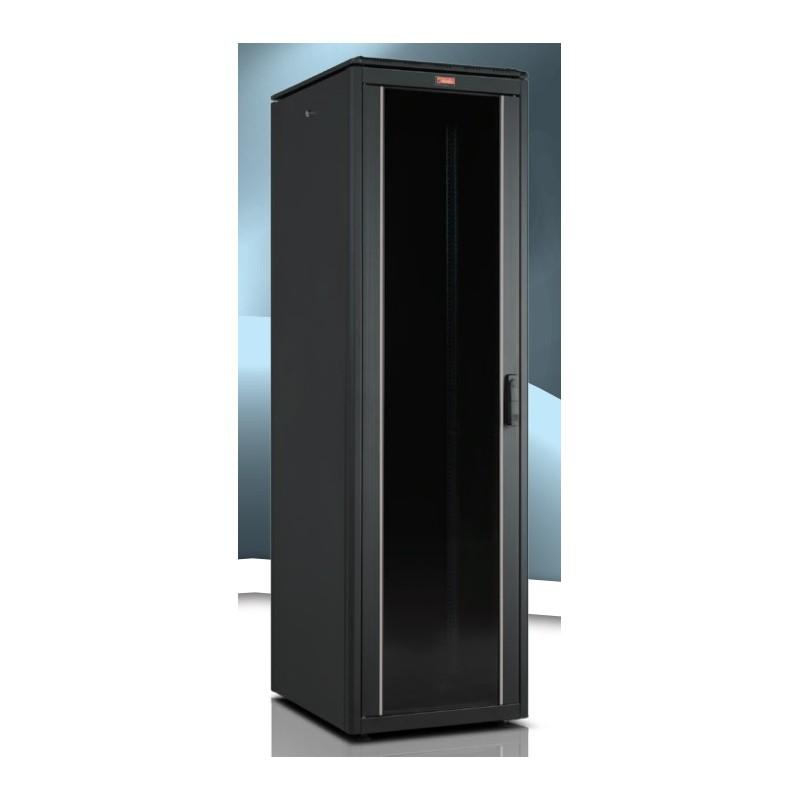 """LN-FS42U6060-BL-111, LANDE, 42U 19"""" Free Standing Cabinets 600x600mm"""