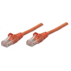 338295, Пач кабел Cat.5e 3m UTP оранжев, IC