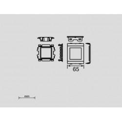 93653-2, Рамка 45x45 тип Unica (за Unex)