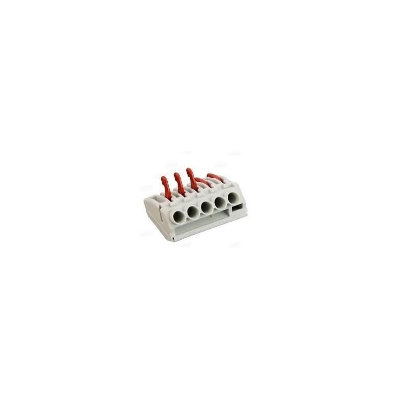 222-5, Конектор Solflex 222/5 0.5-4mm2