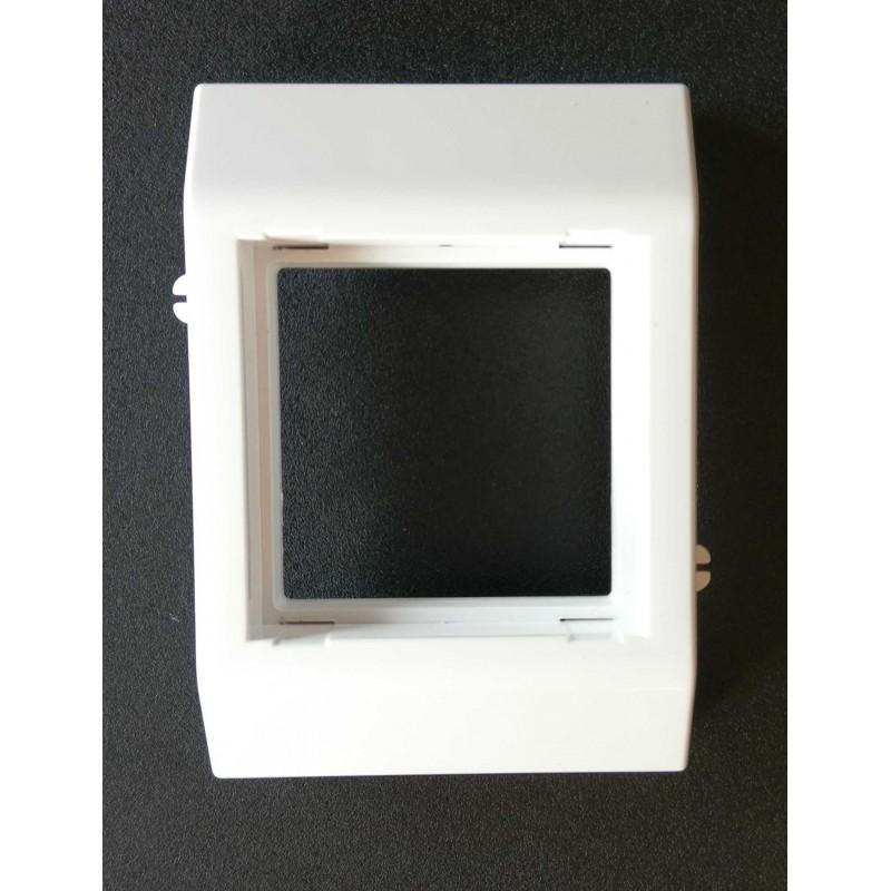 80INS, Рамка - единична за вграждане в канал 40/80