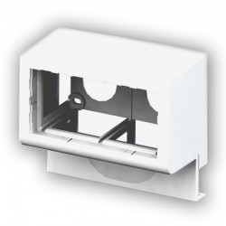 45IN17D, Двойна кутия за монтаж на канал 17мм - mosaic