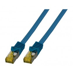 MK7001.5BL, Пач кабел Cat.6A 5m SFTP син, EFB