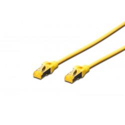 DK-1644-A-050/Y, Пач кабел Cat.6A 5m SFTP жълт, Assmann