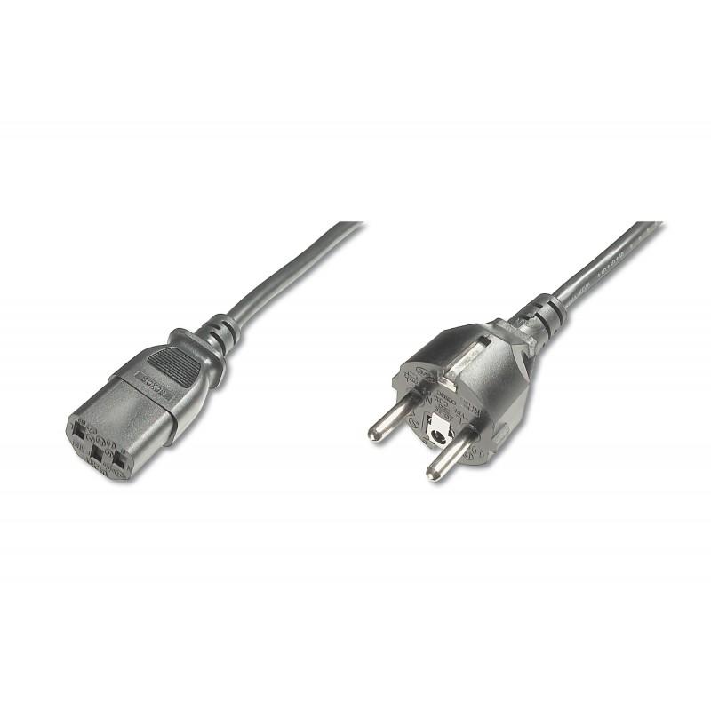 AK-440110-018-S, Захранващ кабел Schuko - C13 1.8m