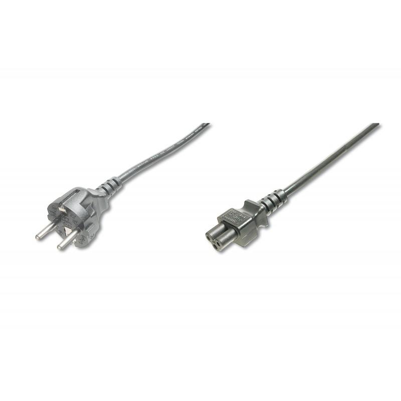 AK-440115-012-S, Захранващ кабел Schuko - C5 (Laptop) 1.2m
