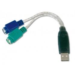 DA-70118, Адаптер USB към PS/2 2xMiniDin 6/F