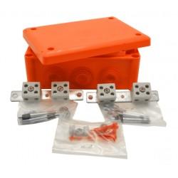 J160-BF, Кутия FireResist E90 166x116x70 оранжева IP66