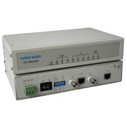 YN-C808B, Конвертор FE1 to Ethernet, AC220V single power