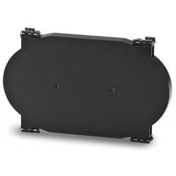 FS-020-12-R, Сплайс касета с холдери за 12 сплайса, черна