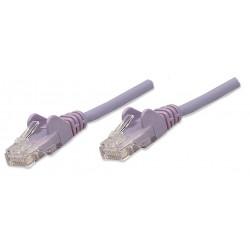 453455, Пач кабел Cat.5e 1m UTP лилав, IC