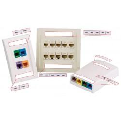 C261X030FJC, White, poly label 66x7.6mm 125/cassette